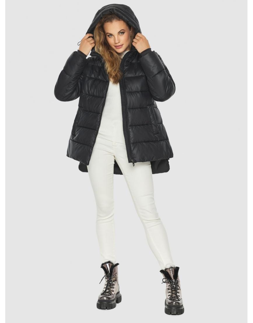 Женская чёрная практичная куртка Kiro Tokao 60041 фото 3