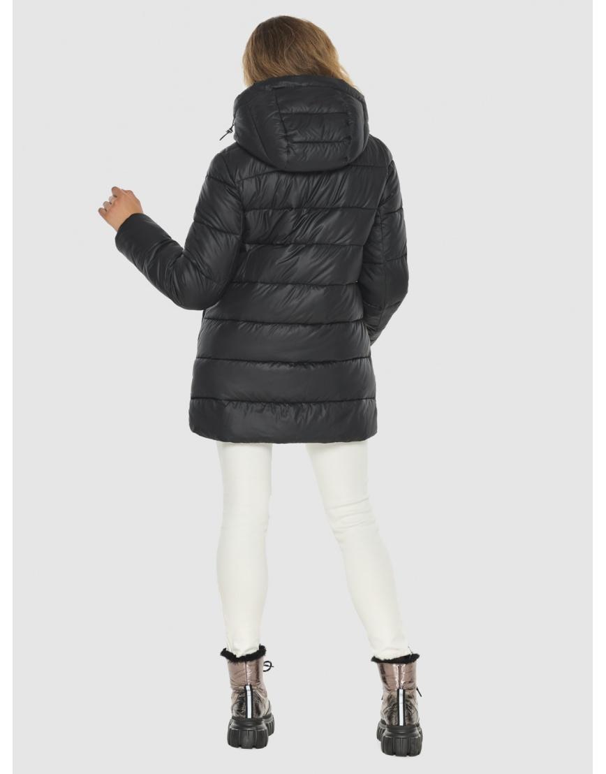 Женская чёрная практичная куртка Kiro Tokao 60041 фото 4