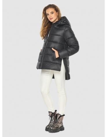 Женская чёрная практичная куртка Kiro Tokao 60041 фото 1