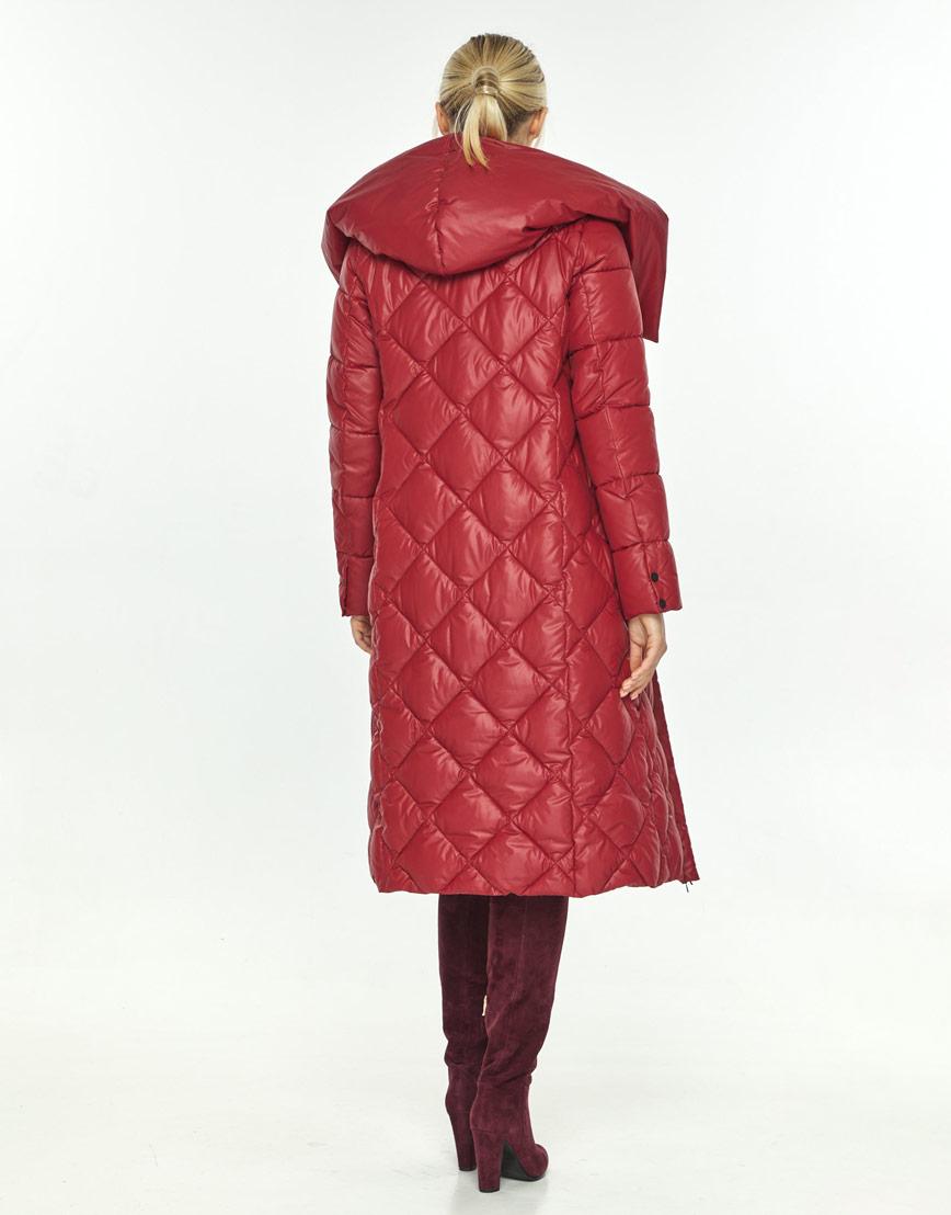 Красная куртка удобная зимняя Kiro Tokao женская 60074 фото 3