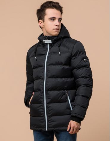 Графитовая куртка модная подростковая модель 75263 фото 1