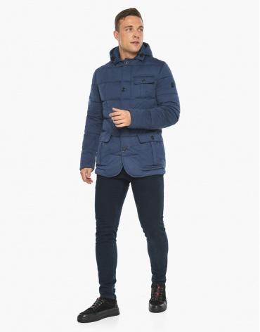 Воздуховик модного дизайна Braggart мужской зимний цвет джинс модель 35230 фото 1