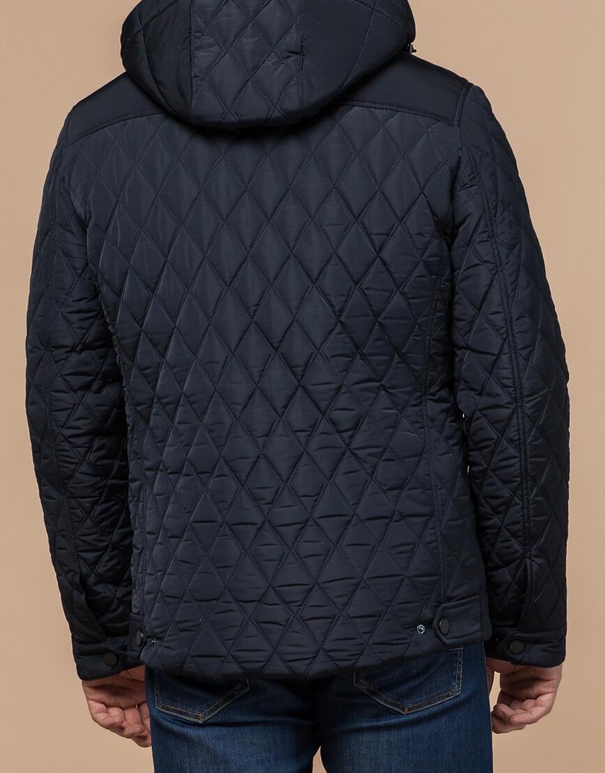 Куртка мужская зимняя темно-синего цвета модель 1698 оптом фото 3