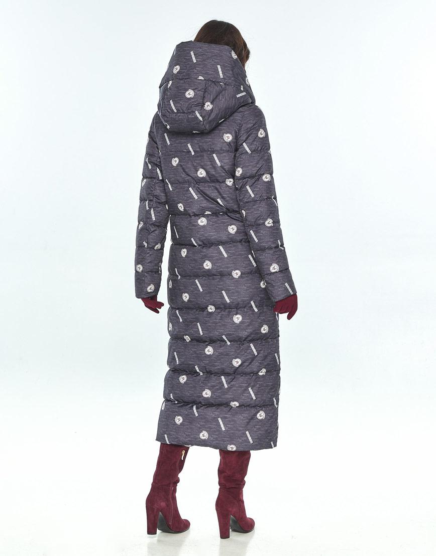 Стильная зимняя куртка с рисунком женская Vivacana 9405/21 фото 3