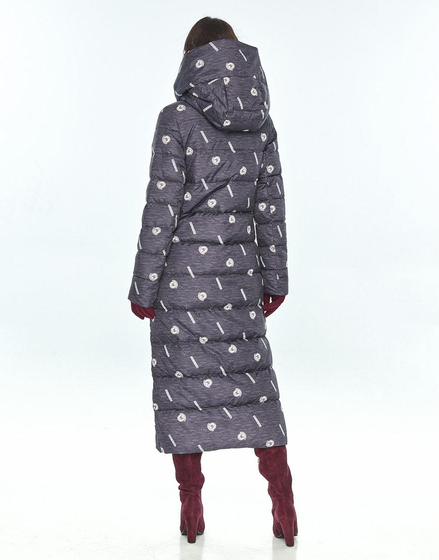 Куртка большого размера с рисунком женская Vivacana стильная 9405/21 фото 3