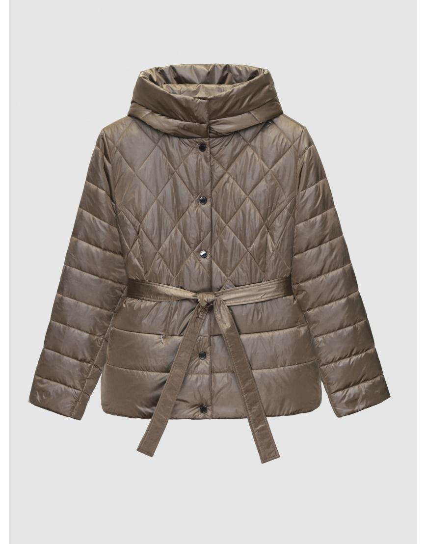 50 (L) – последний размер – коричневая куртка с поясом женская Braggart осенняя 200034 фото 1