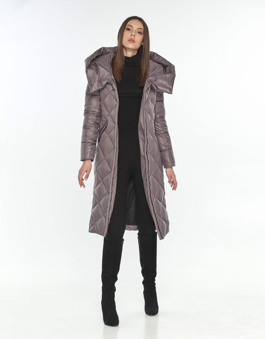 Куртка для подростка пудровая стильная Wild Club 594-37 фото 2