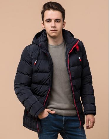 Куртка темно-синяя подростковая фирменная модель 75263