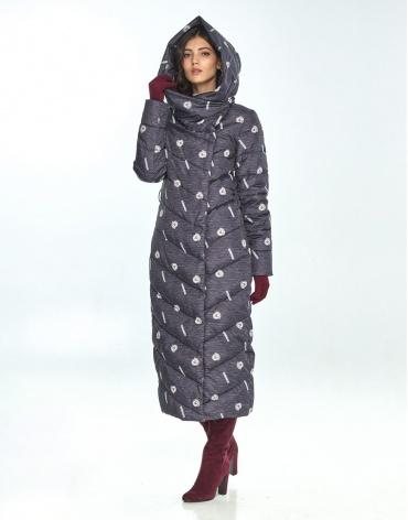 Куртка большого размера с рисунком женская Vivacana стильная 9405/21 фото 1
