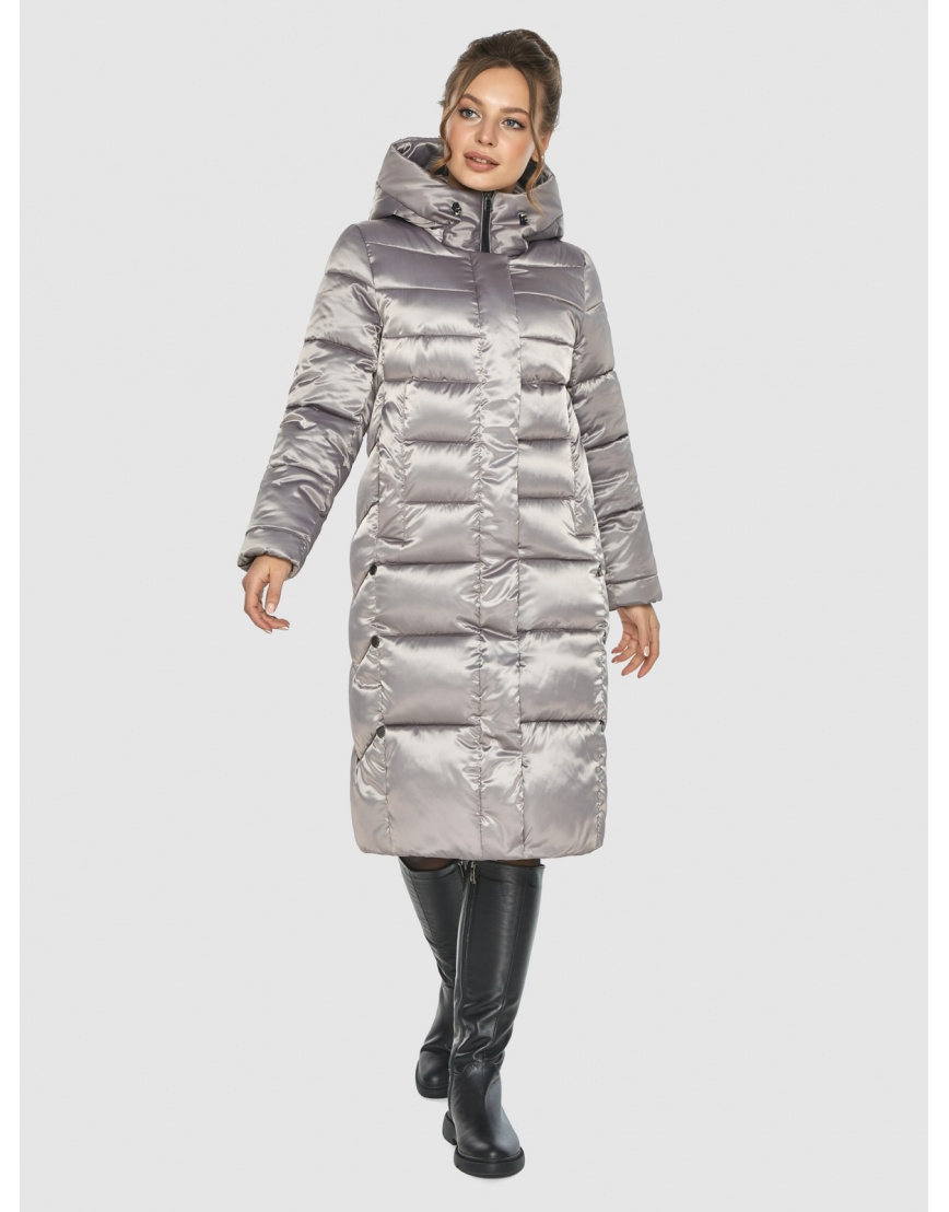 Кварцевая куртка с капюшоном женская Ajento 22975 фото 5