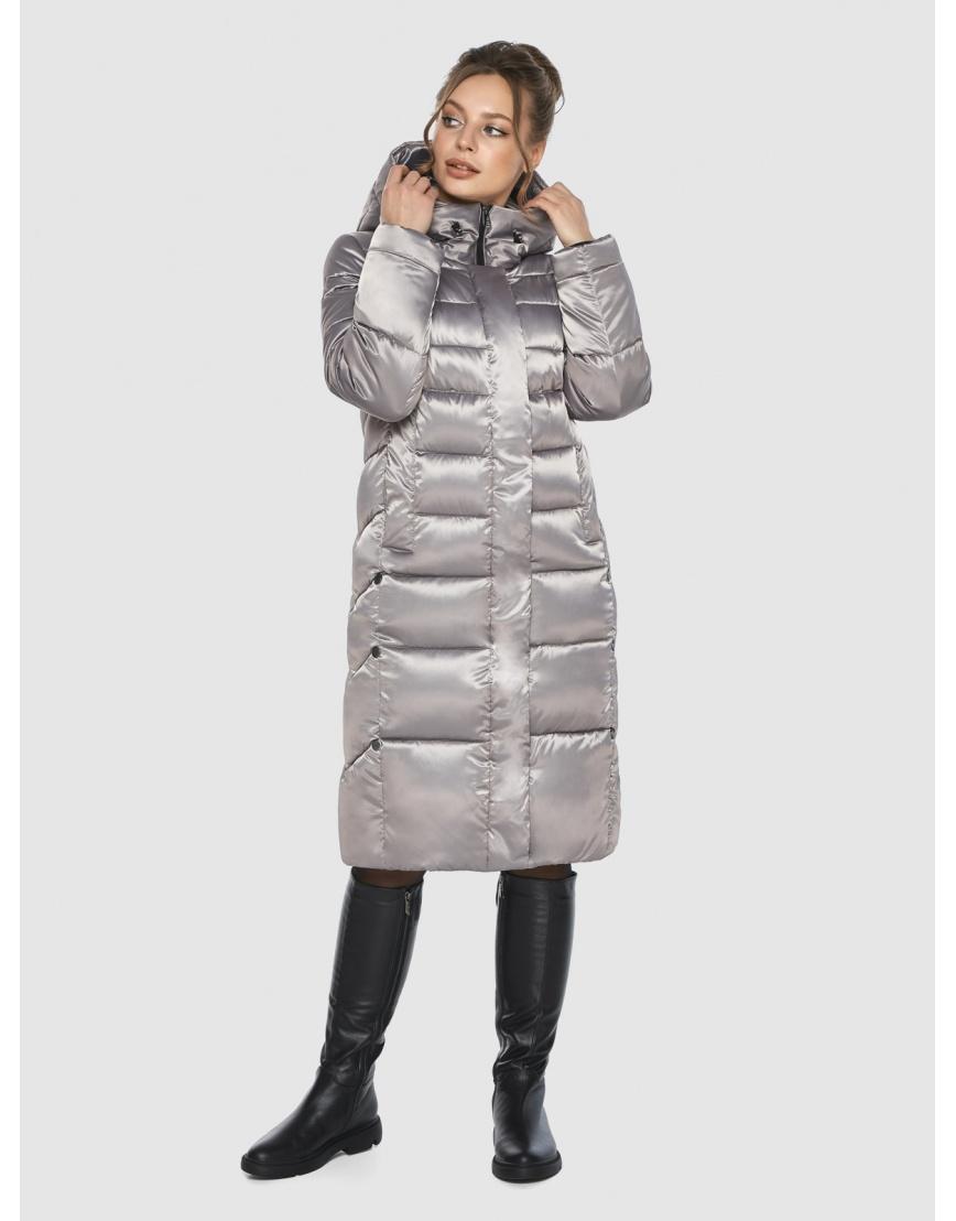 Кварцевая куртка с капюшоном женская Ajento 22975 фото 3