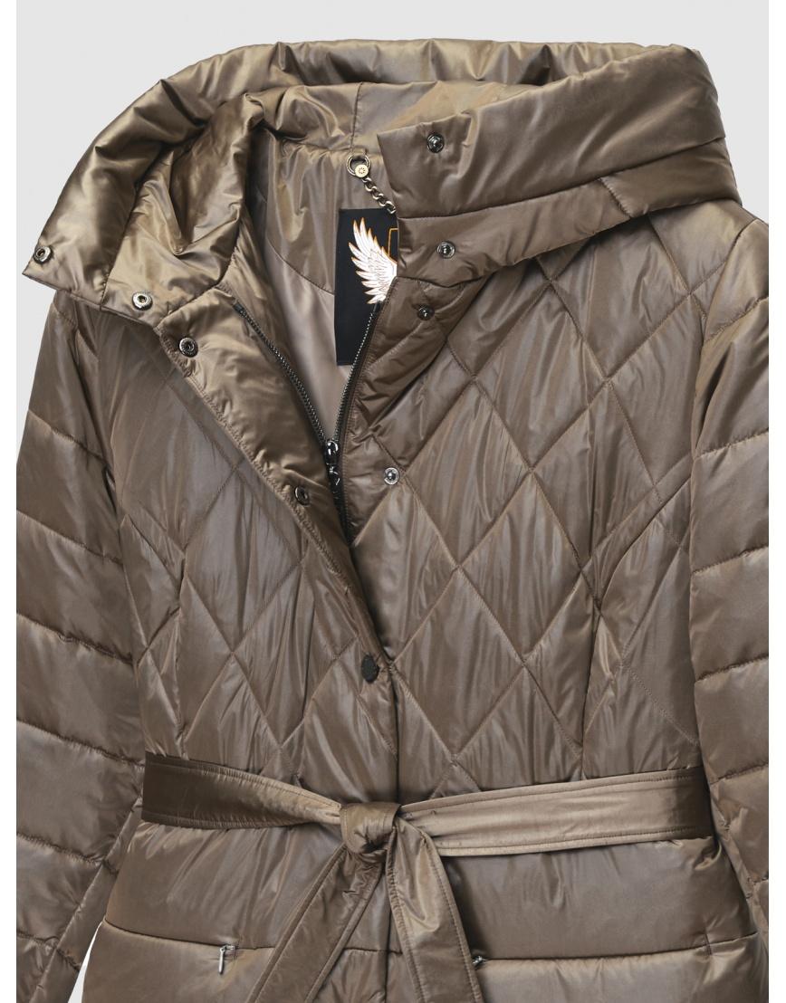 50 (L) – последний размер – коричневая куртка с поясом женская Braggart осенняя 200034 фото 3