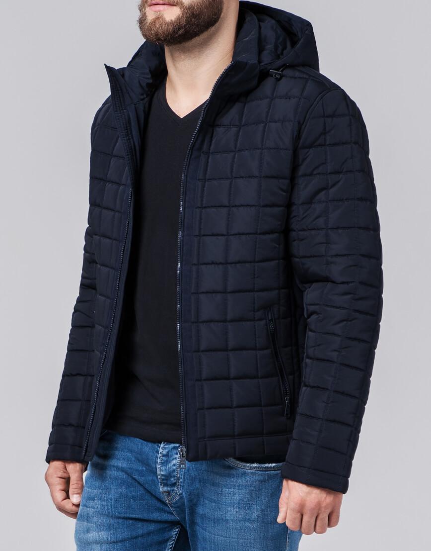 Куртка темно-синяя Braggart Evolution качественного пошива модель 2475 оптом