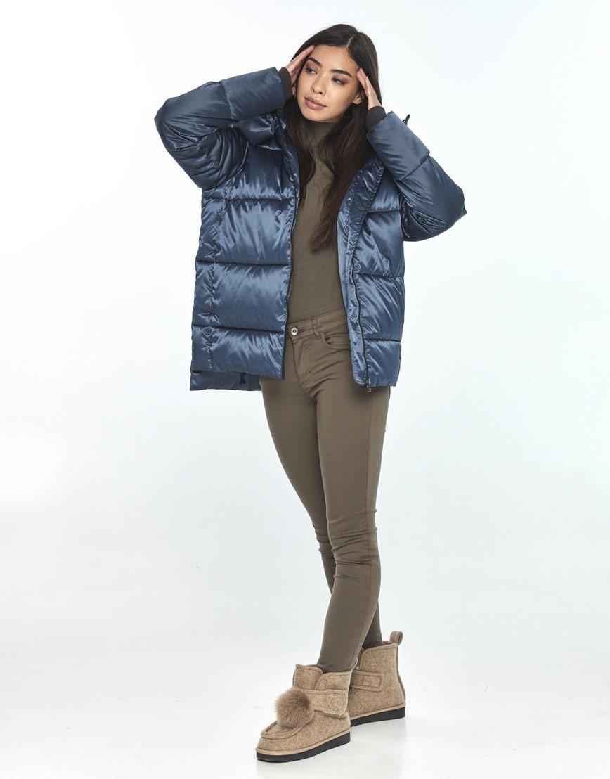 Синяя куртка женская Moc комфортная M6212 фото 1