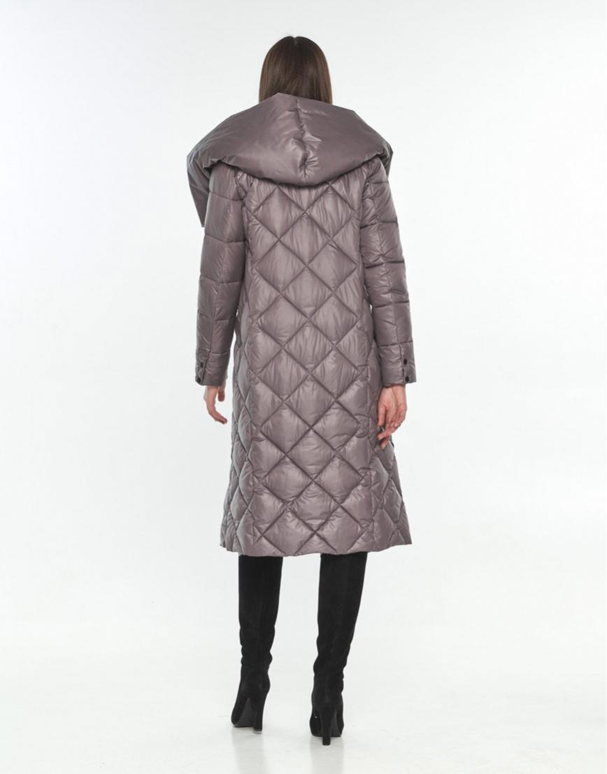 Куртка для подростка пудровая стильная Wild Club 594-37 фото 3