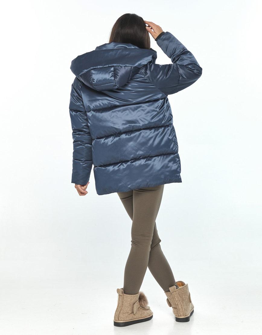 Синяя куртка женская Moc комфортная M6212 фото 3