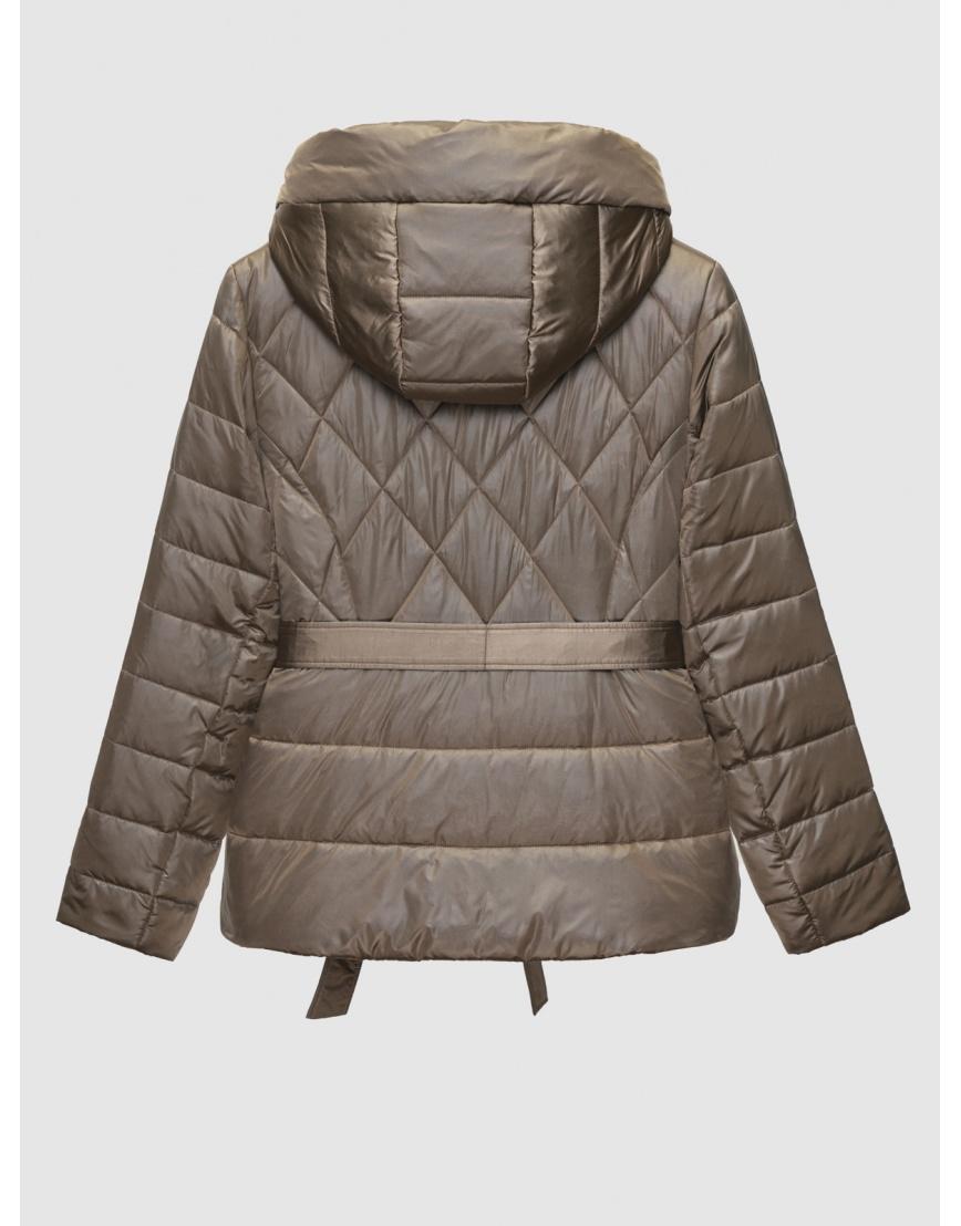 50 (L) – последний размер – коричневая куртка с поясом женская Braggart осенняя 200034 фото 2