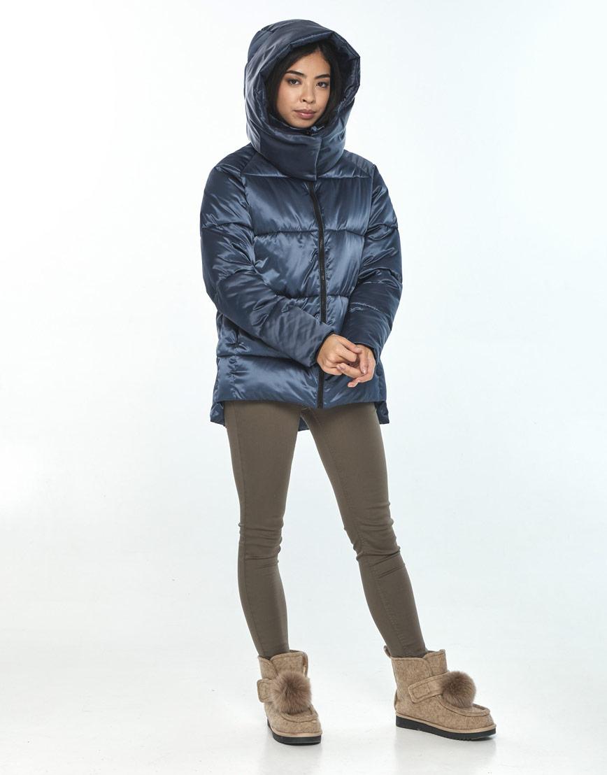 Синяя куртка женская Moc комфортная M6212 фото 2