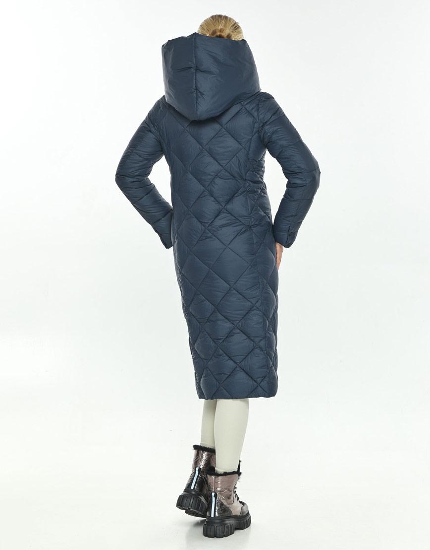 Женская синяя модная куртка на зиму Kiro Tokao 60074 фото 3