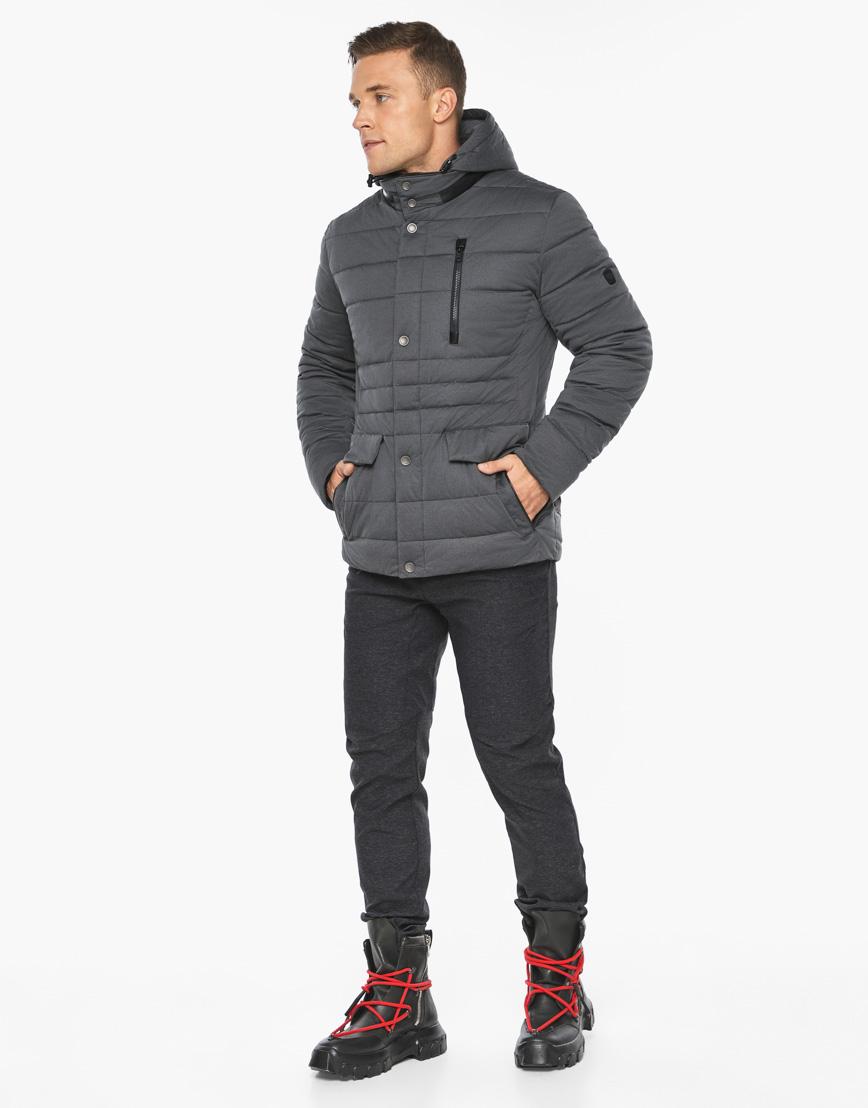 Воздуховик модный Braggart мужской зимний цвет мокрый асфальт модель 15078 фото 6