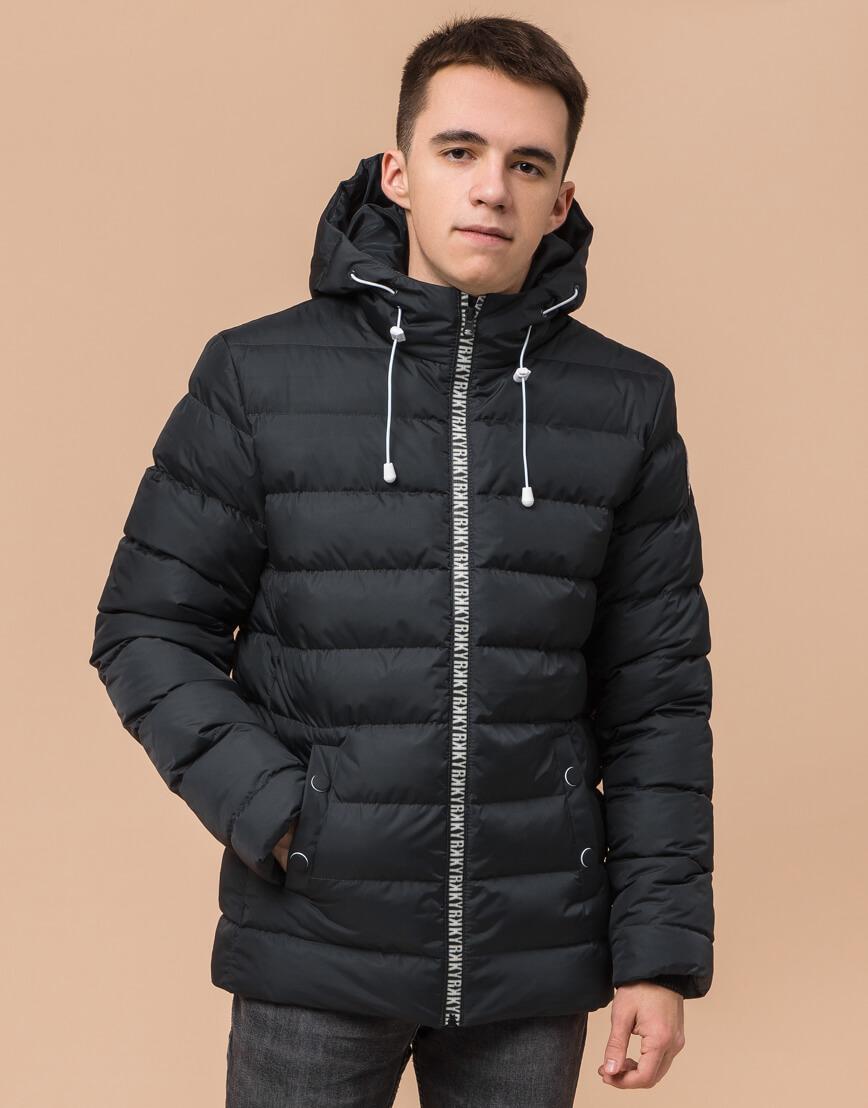 Стильная подростковая куртка графитового цвета модель 76025 фото 1