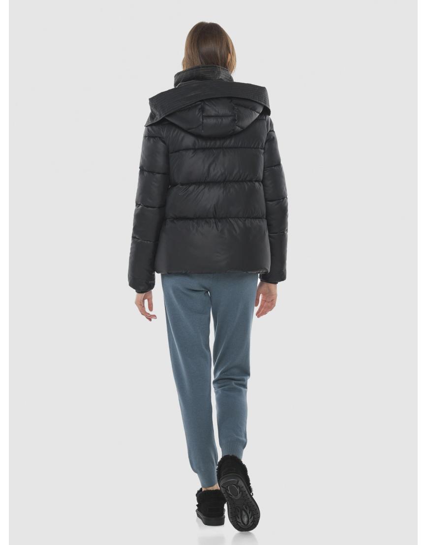 Куртка брендовая чёрная женская Vivacana 9742/21 фото 4
