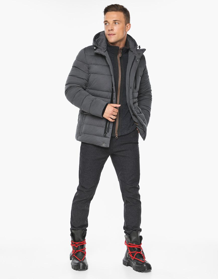 Воздуховик модный Braggart мужской зимний цвет мокрый асфальт модель 15078 фото 2
