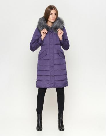 Фиолетовая куртка комфортная женская модель 8606 фото 1