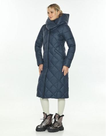 Женская синяя модная куртка на зиму Kiro Tokao 60074 фото 1