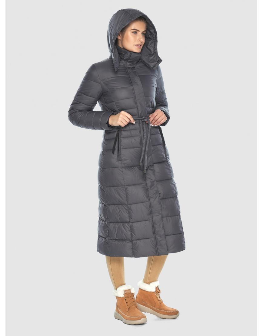 Стильная куртка Ajento серая женская 21375 фото 5