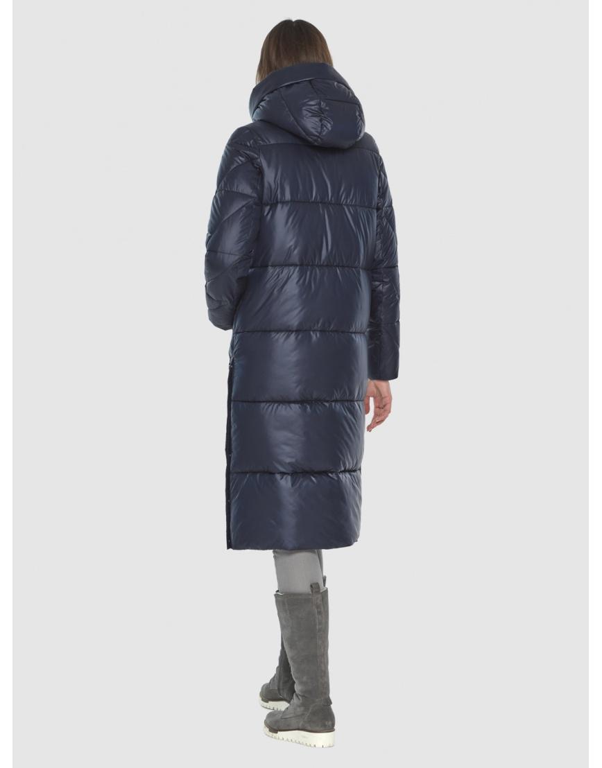Тёплая куртка женская Wild Club синяя 534-23 фото 5