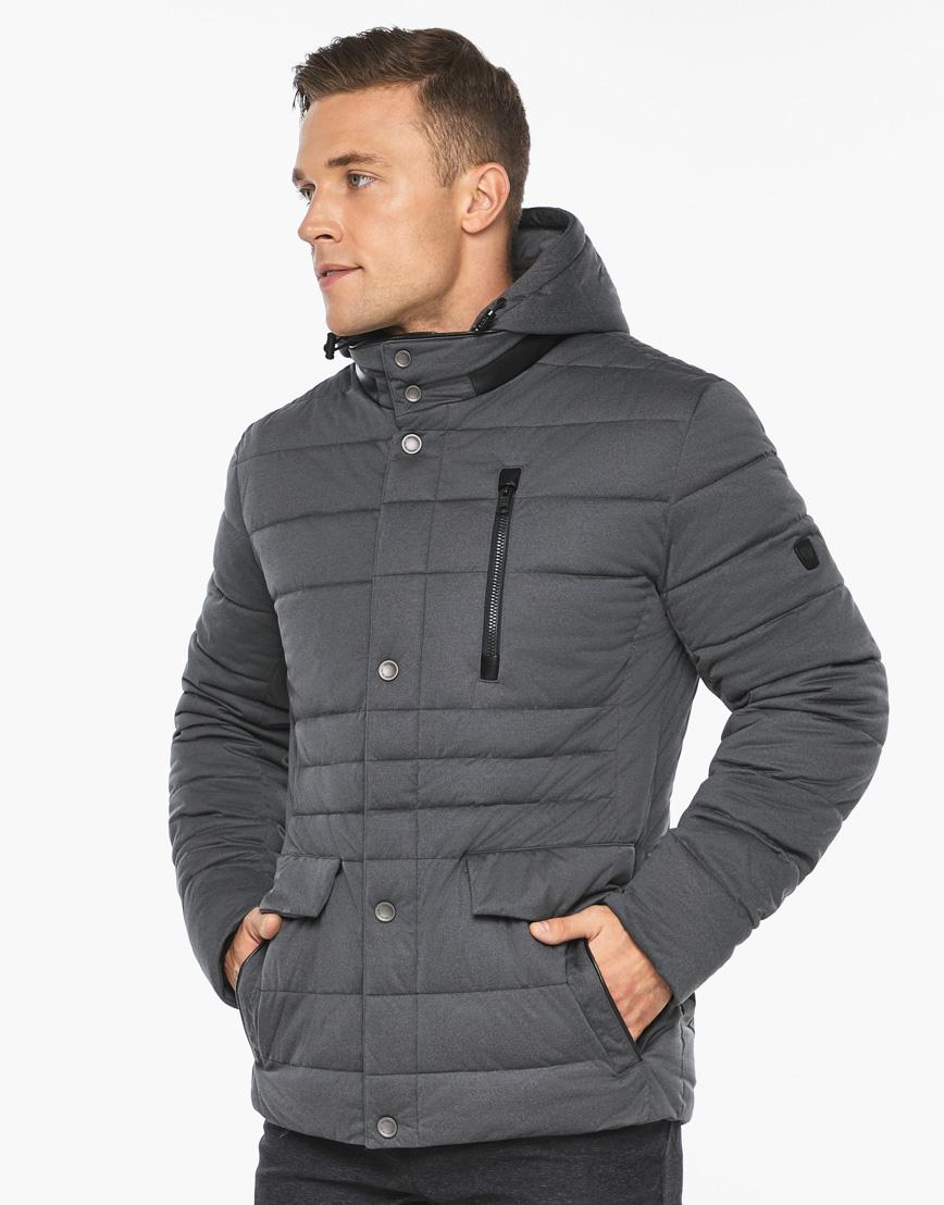 Воздуховик модный Braggart мужской зимний цвет мокрый асфальт модель 15078 фото 4