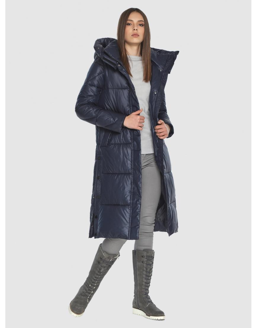 Тёплая куртка женская Wild Club синяя 534-23 фото 6