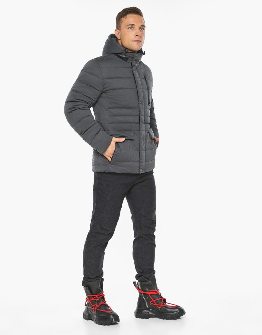 Воздуховик модный Braggart мужской зимний цвет мокрый асфальт модель 15078 фото 5