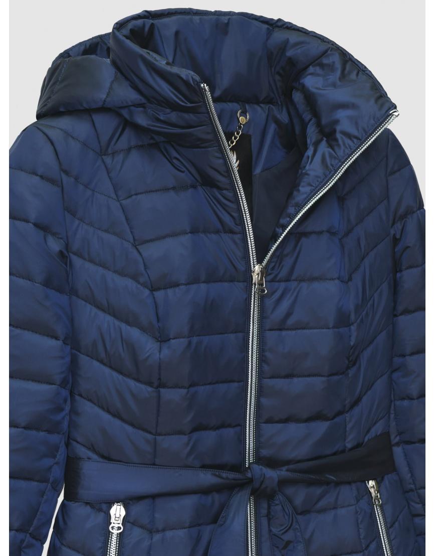 Куртка женская Braggart синяя осенне-весенняя короткая 200035 фото 3