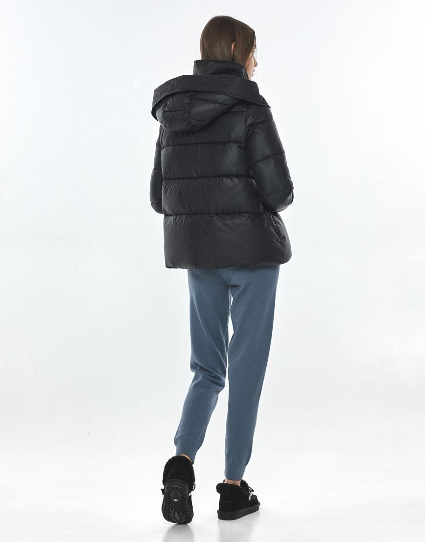 Куртка осенняя женская Vivacana удобная чёрная 9742/21 фото 3