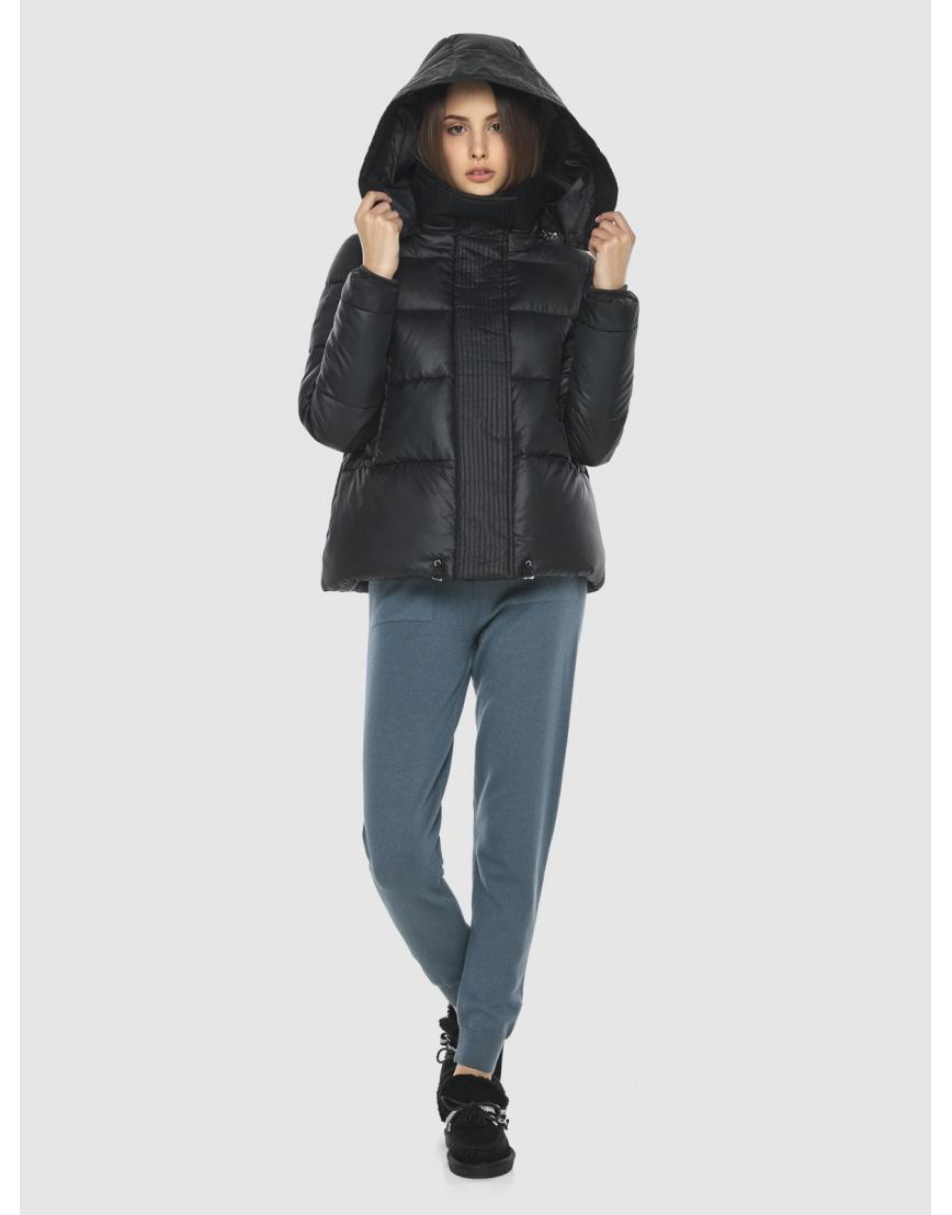 Куртка брендовая чёрная женская Vivacana 9742/21 фото 1