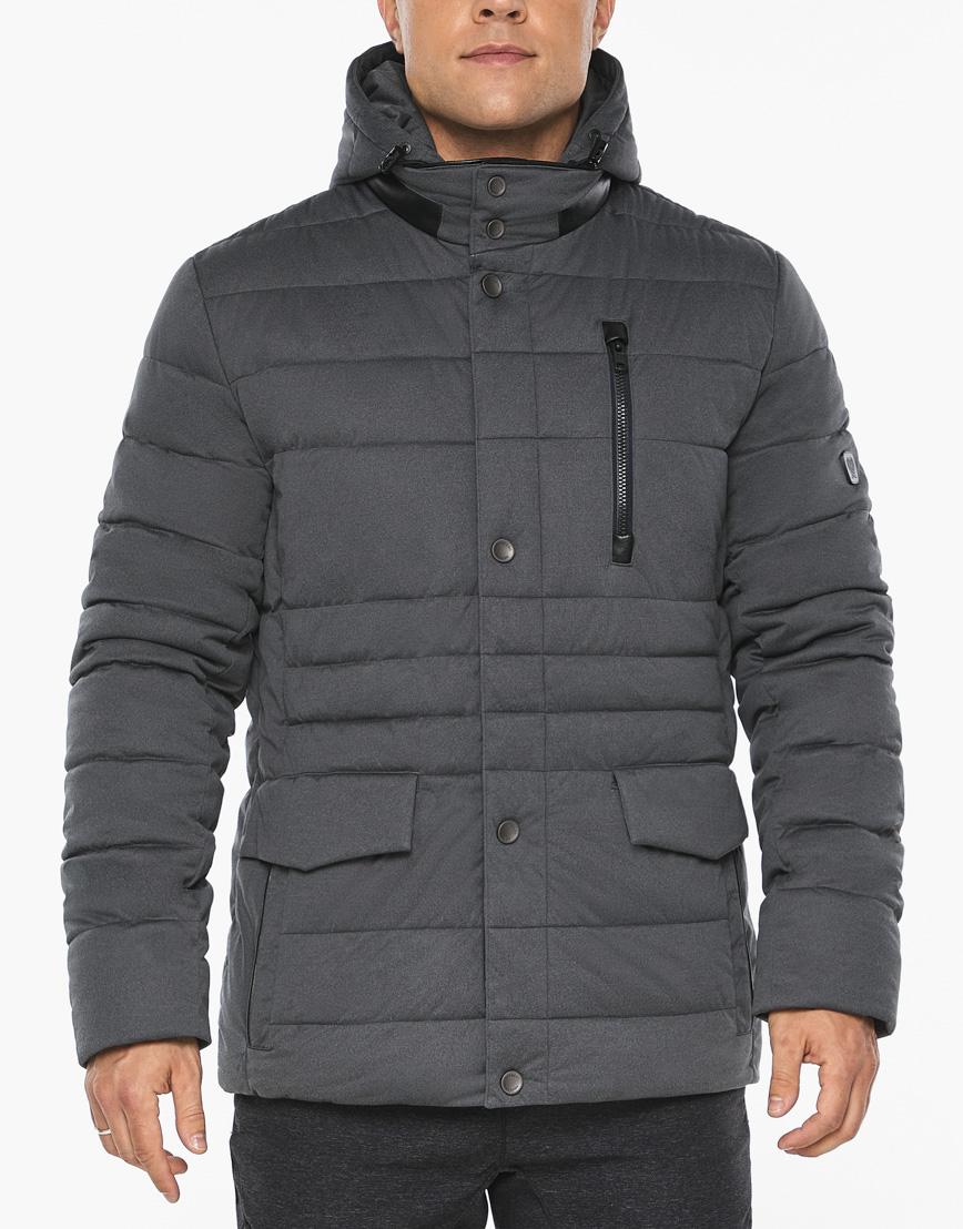 Воздуховик модный Braggart мужской зимний цвет мокрый асфальт модель 15078 фото 8