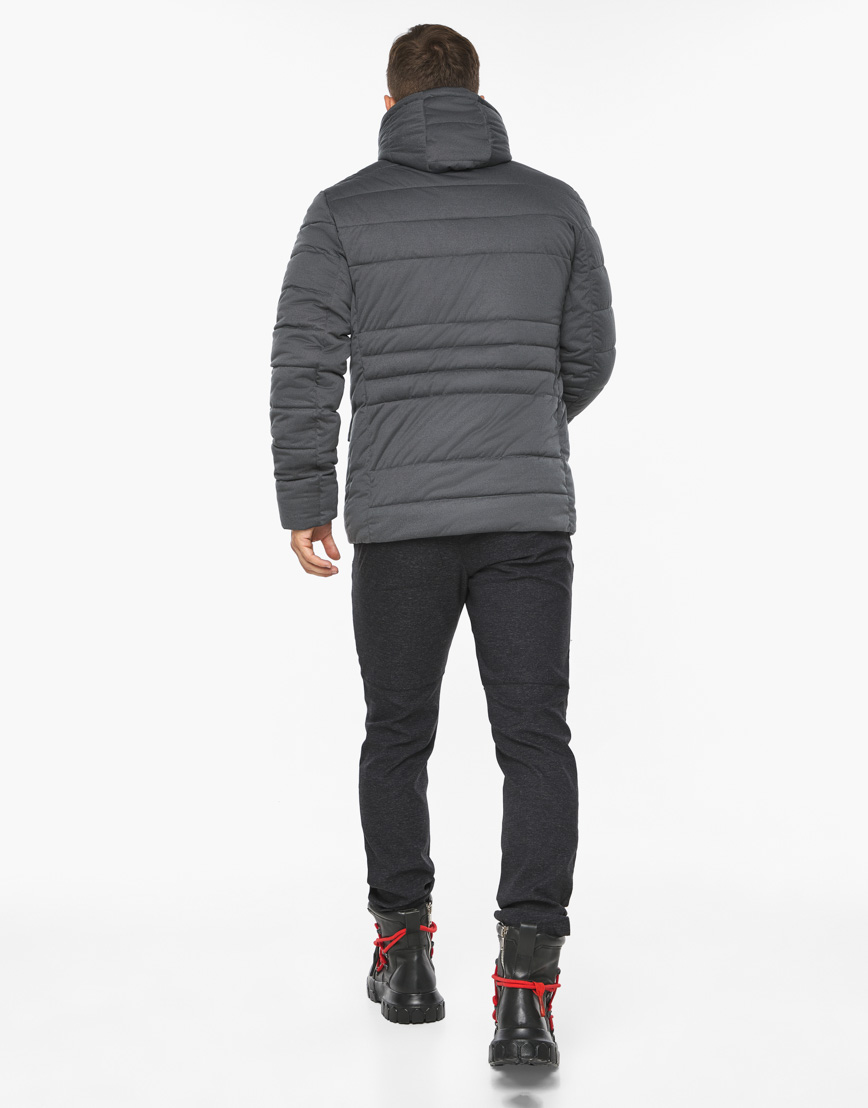 Воздуховик модный Braggart мужской зимний цвет мокрый асфальт модель 15078 фото 7