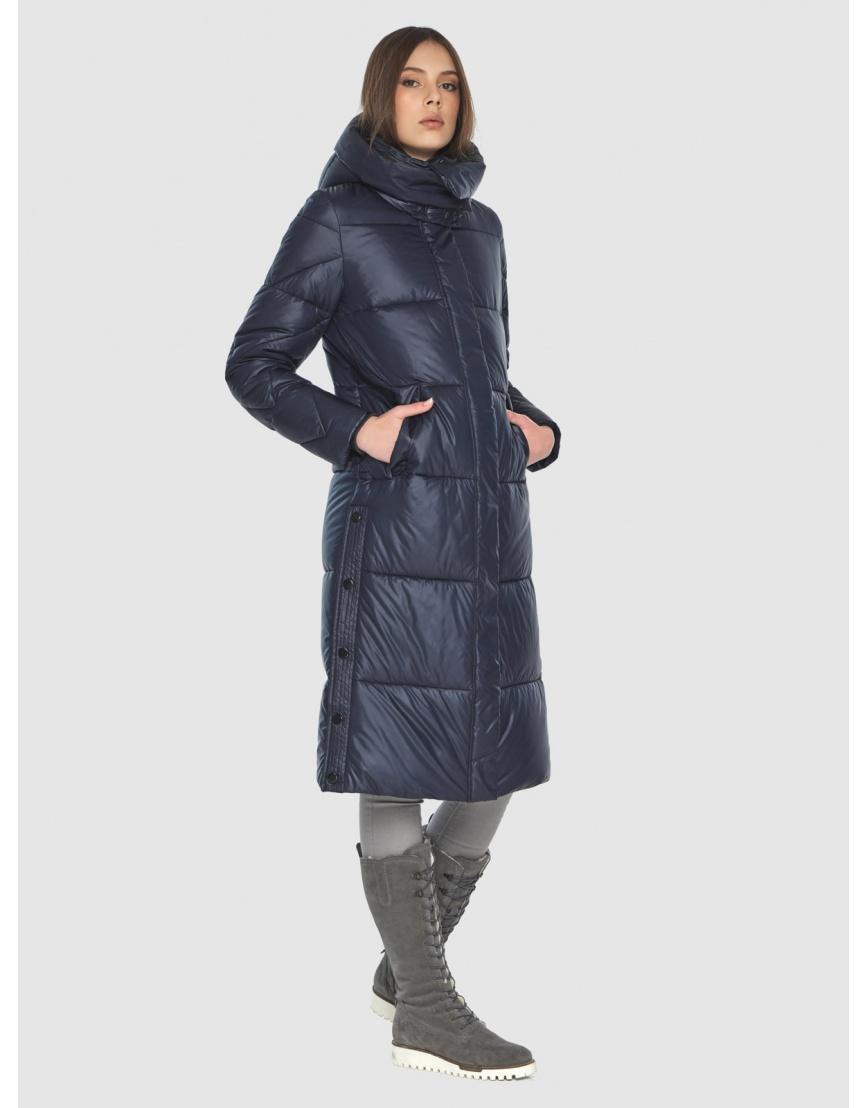 Тёплая куртка женская Wild Club синяя 534-23 фото 3