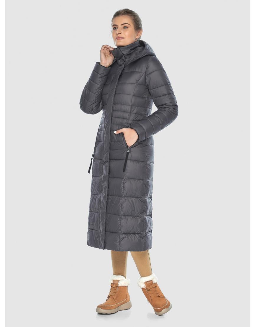 Стильная куртка Ajento серая женская 21375 фото 1