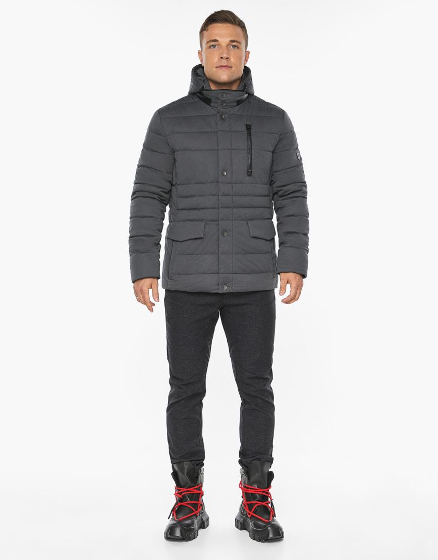 Воздуховик модный Braggart мужской зимний цвет мокрый асфальт модель 15078 фото 3