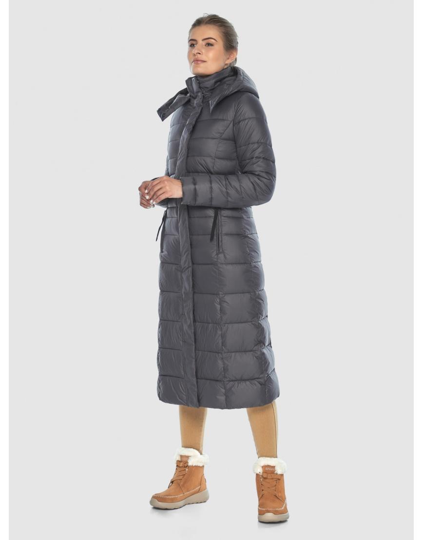 Стильная куртка Ajento серая женская 21375 фото 6