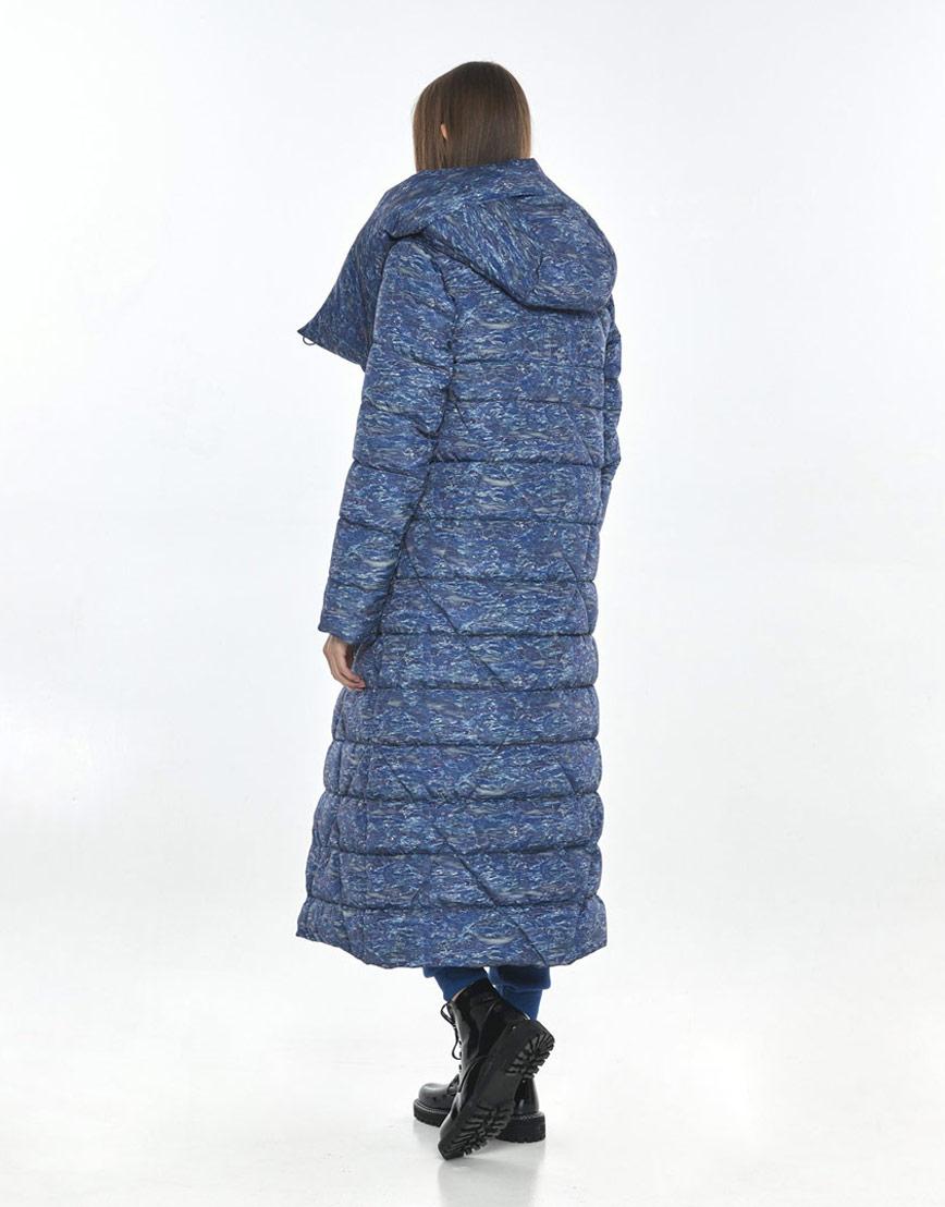 Удобная куртка с рисунком женская Vivacana зимняя 9470/21 фото 3