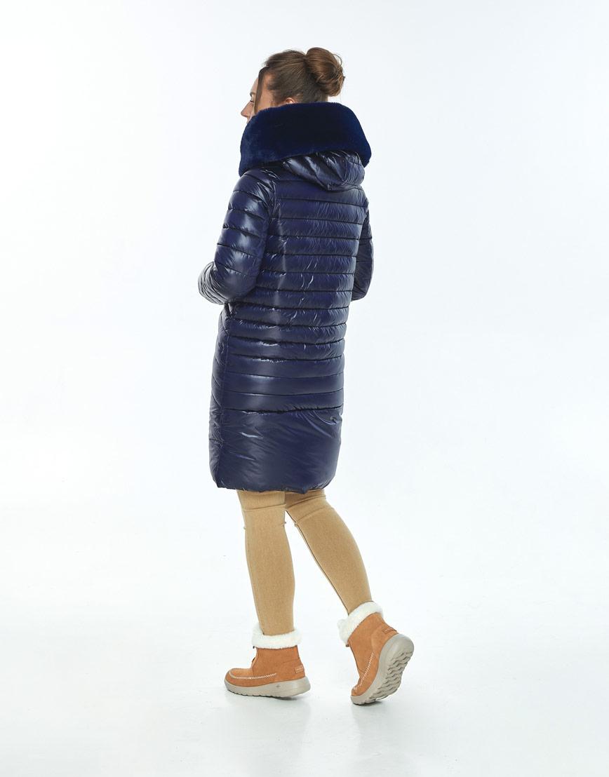 Куртка Ajento свободного фасона женская синяя 24138 фото 3