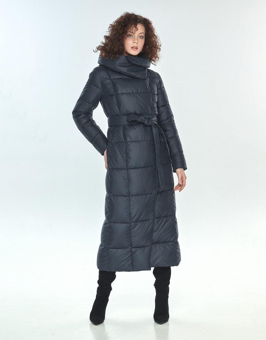 Куртка женская Moc синяя удобная M6321 фото 2
