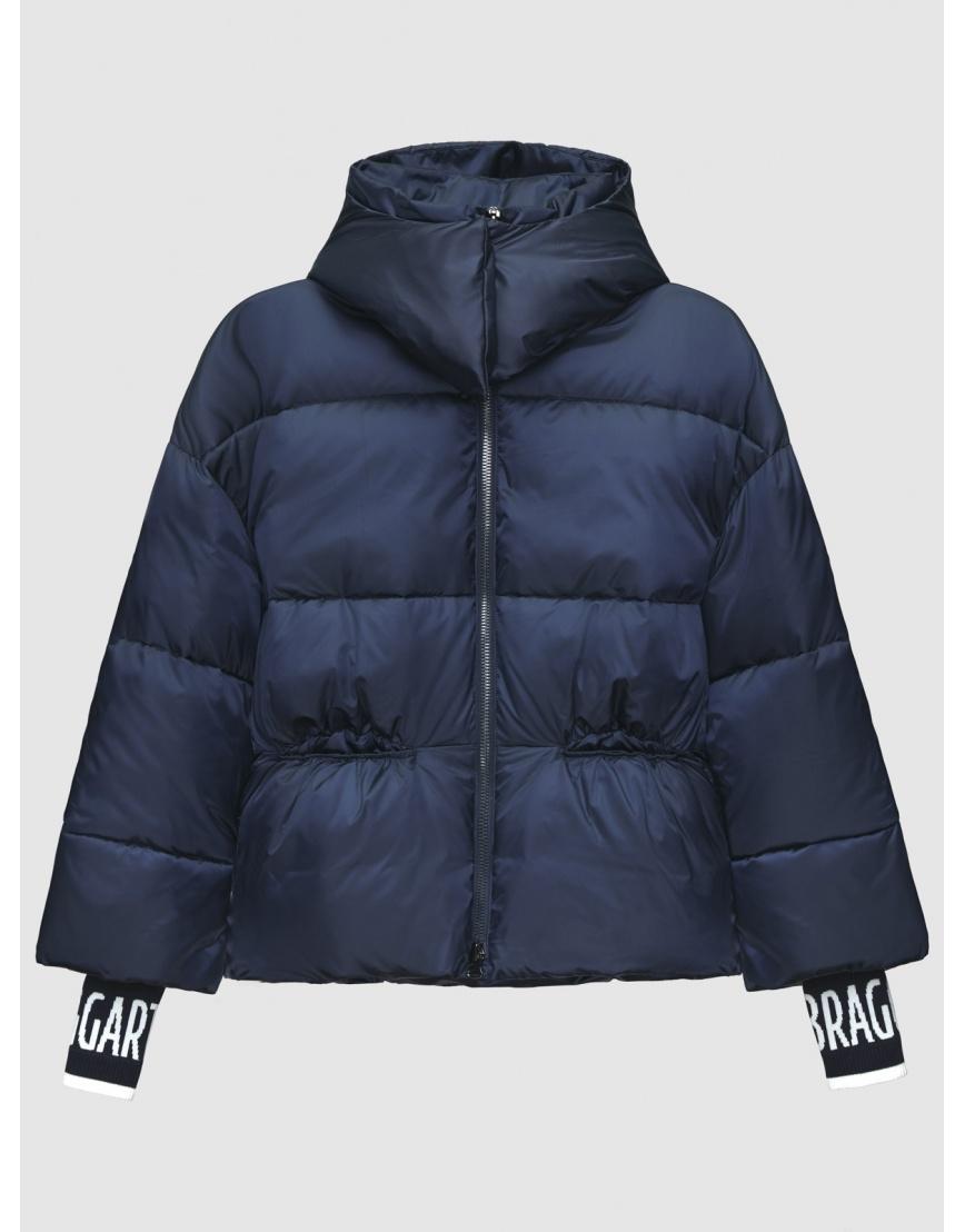 40 (3XS) – последний размер – куртка на молнии женская Braggart синяя осенне-весенняя 200036 фото 1