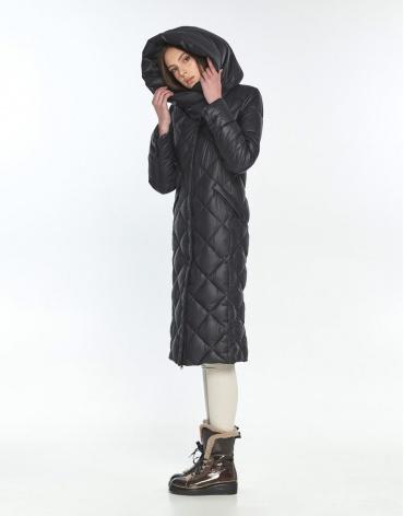 Чёрная куртка на подростка комфортная Wild Club 594-37 фото 1