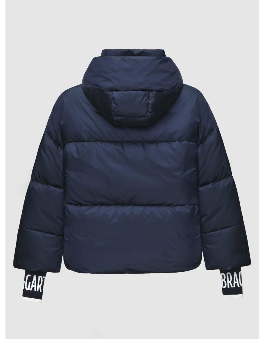 40 (3XS) – последний размер – куртка на молнии женская Braggart синяя осенне-весенняя 200036 фото 2