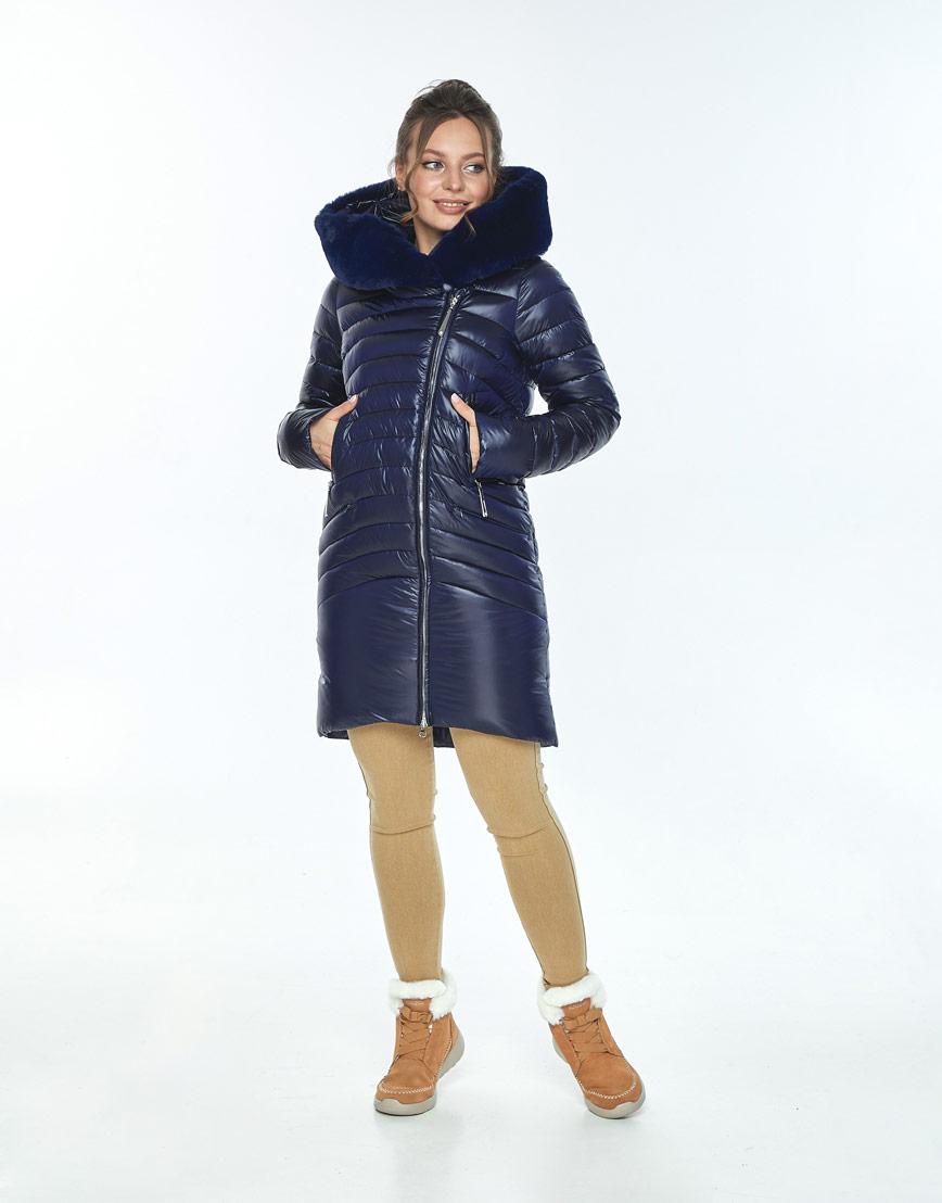 Куртка Ajento свободного фасона женская синяя 24138 фото 1